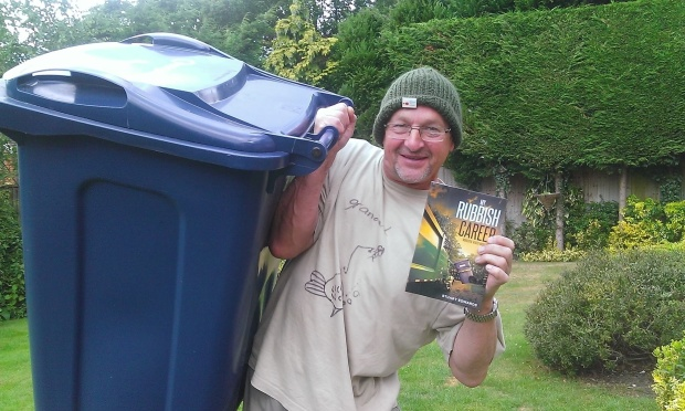 Obviously the effect of reading the book is that the reader will want to get into waste management :-) thanks for the pic Dad